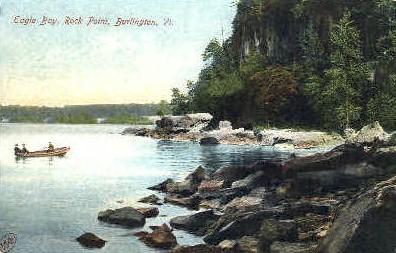 Eagle Bay - Burlington, Vermont VT Postcard