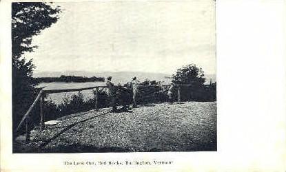 The Look Out - Burlington, Vermont VT Postcard