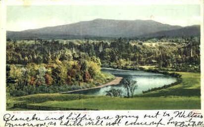 Winooski Valley - Burlington, Vermont VT Postcard