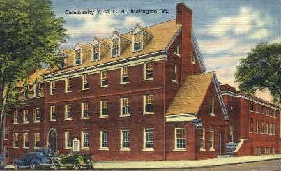 Y. M. C. A. - Burlington, Vermont VT Postcard