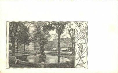 City Park - Burlington, Vermont VT Postcard