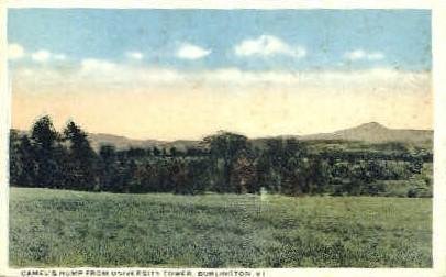 Camel's Hump - Burlington, Vermont VT Postcard