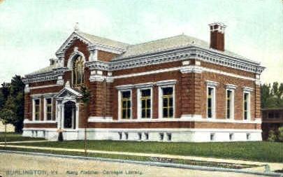 Mary Fletcher Hospital - Burlington, Vermont VT Postcard