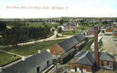 Fort Ethan Allen - Burlington, Vermont VT Postcard