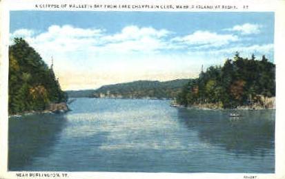 Melletts Bay - Burlington, Vermont VT Postcard