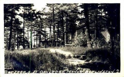 Cottages at Oakledge Manor - Burlington, Vermont VT Postcard