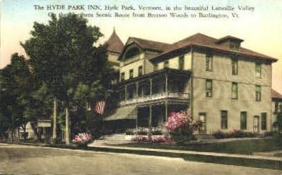 Hyde Park Inn - Burlington, Vermont VT Postcard