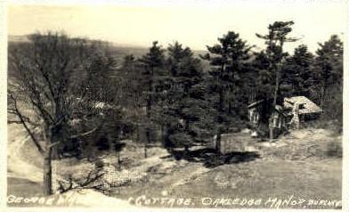 George Washington Cottage - Burlington, Vermont VT Postcard