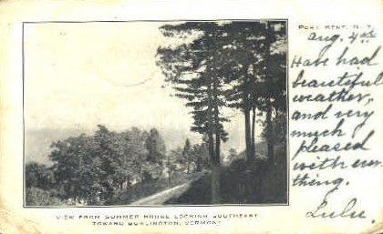 Summer House - Burlington, Vermont VT Postcard