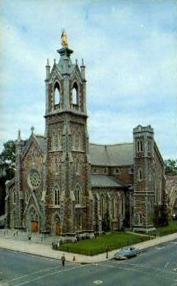 Cathedral  - Burlington, Vermont VT Postcard