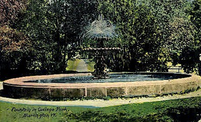 College Park - Burlington, Vermont VT Postcard