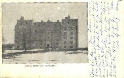 College Dormitory - Burlington, Vermont VT Postcard