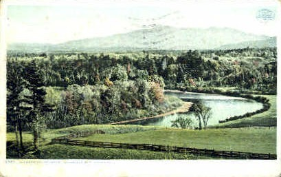 Winooski Valley - Burlington, Vermont VT Postcard