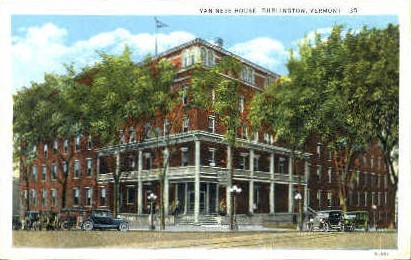 Van Ness House - Burlington, Vermont VT Postcard