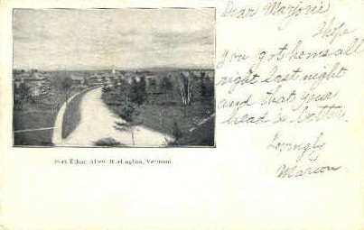 Fort Ethan Allen - Burlington, Vermont VT Postcard