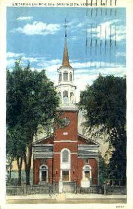 Unitarian Church - Burlington, Vermont VT Postcard