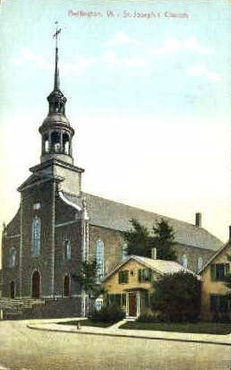 St. Joseph's Church - Burlington, Vermont VT Postcard