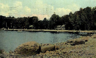 Queen City Park - Burlington, Vermont VT Postcard