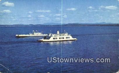 MV Valcour - Burlington, Vermont VT Postcard