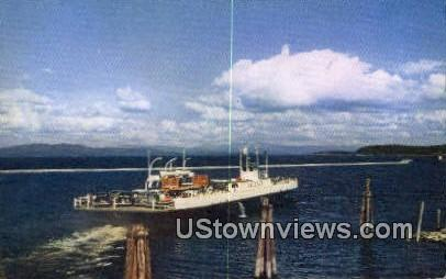 MV Valcour En Route - Burlington, Vermont VT Postcard