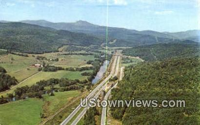 Super Highway - Burlington, Vermont VT Postcard