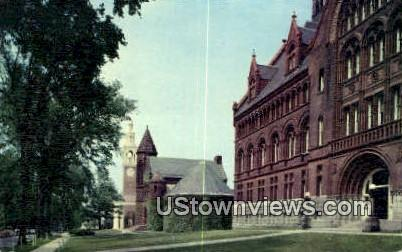 College Row, University of Vermont - Burlington Postcard