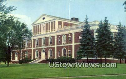 Fleming Museum - Burlington, Vermont VT Postcard