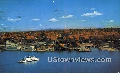 MV Adirondack - Burlington, Vermont VT Postcard