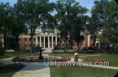 Admin Bldg, University of Vermont - Burlington Postcard