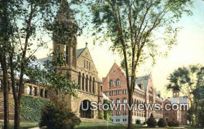 College Row - Burlington, Vermont VT Postcard