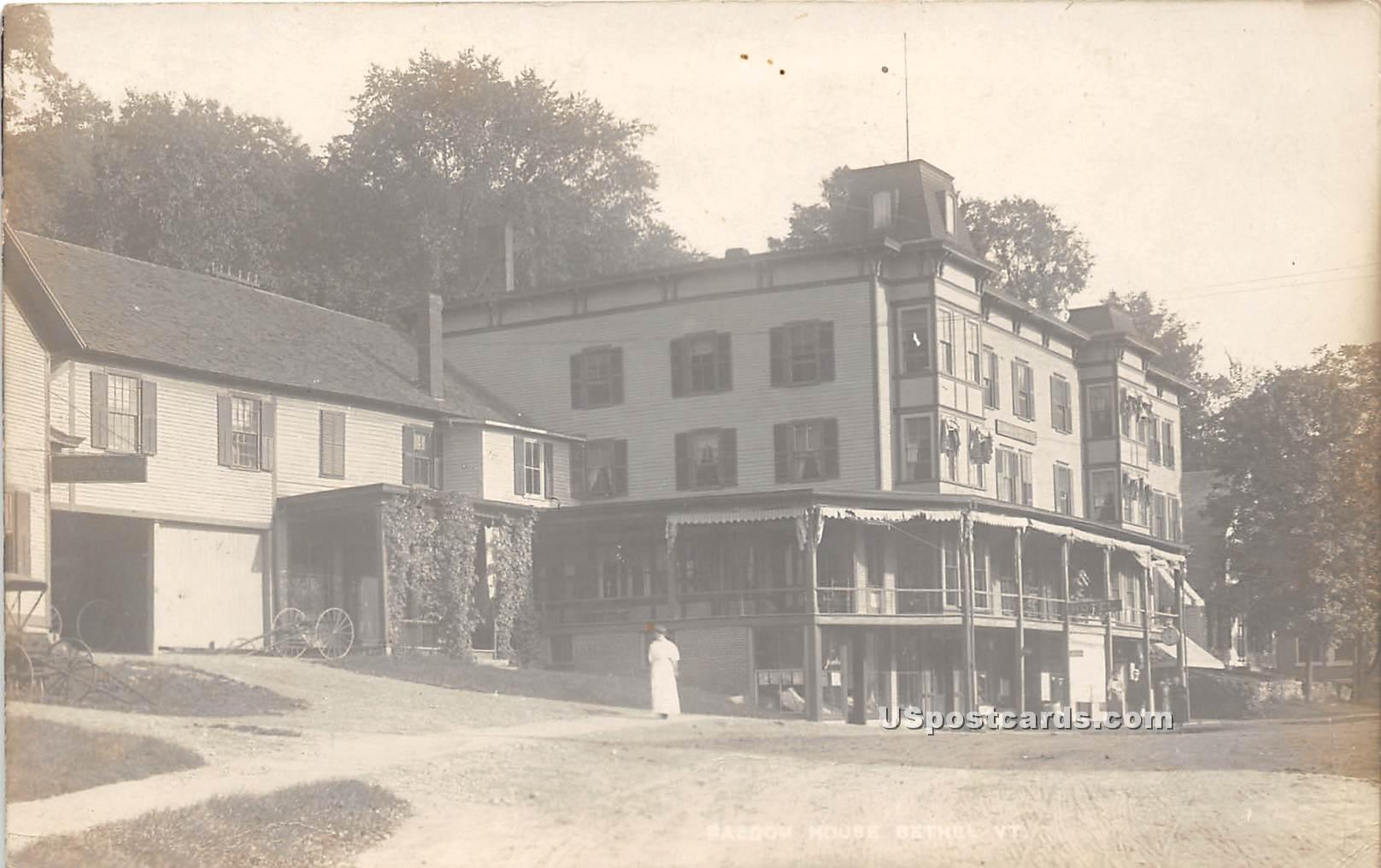 Baboom House - Bethel, Vermont VT Postcard