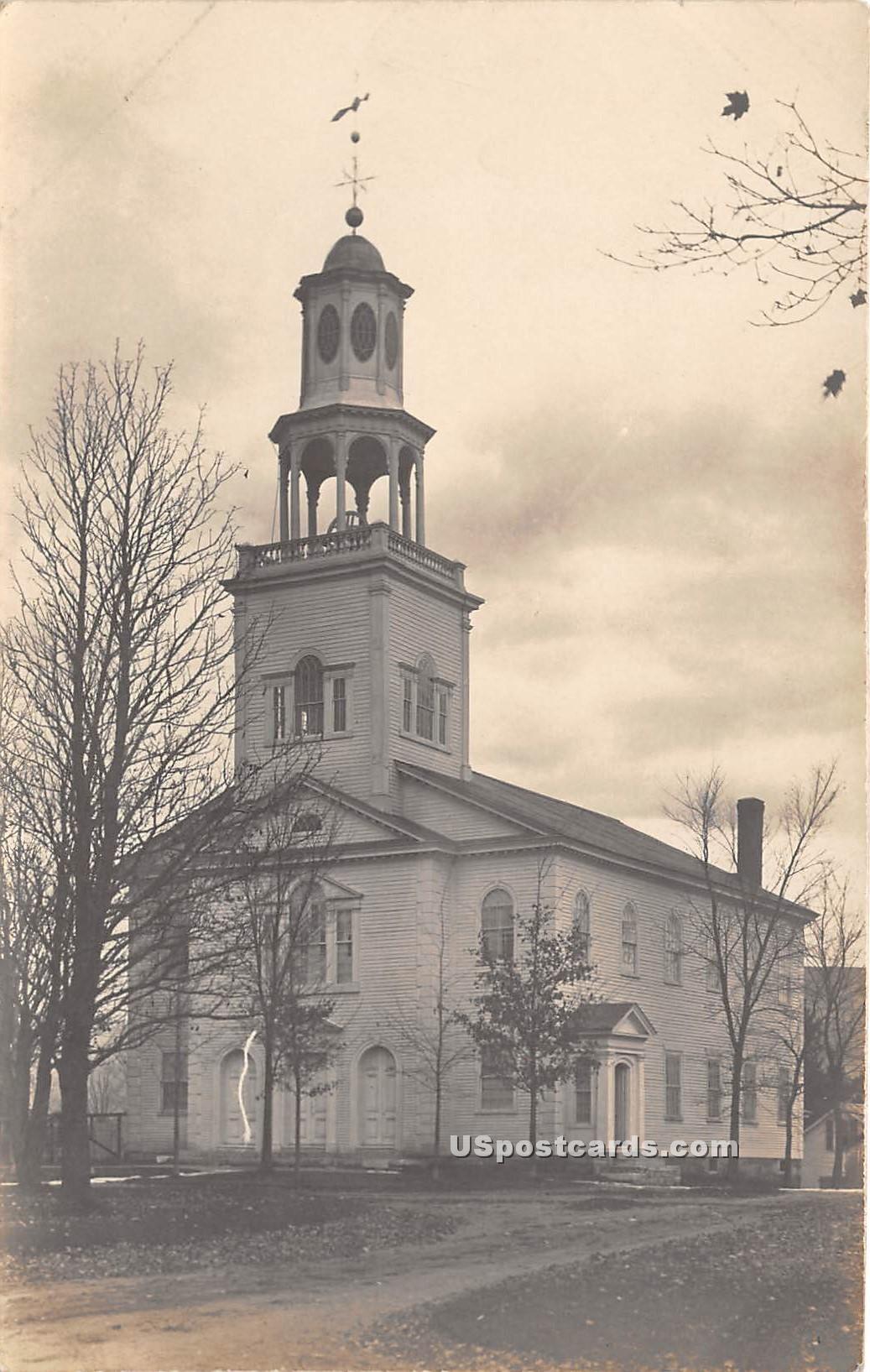 Church - Bennington, Vermont VT Postcard