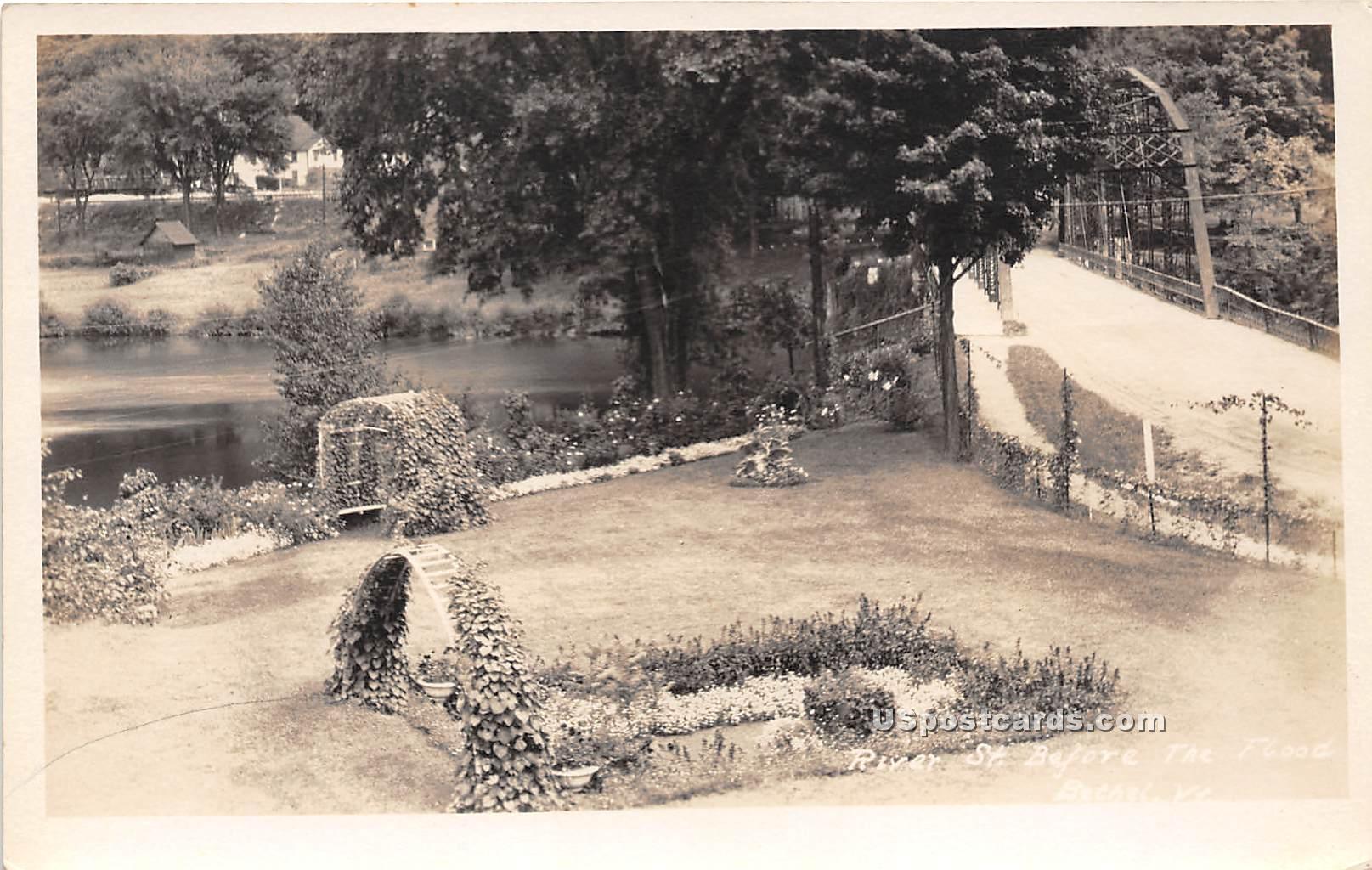 Garden View - Bethel, Vermont VT Postcard