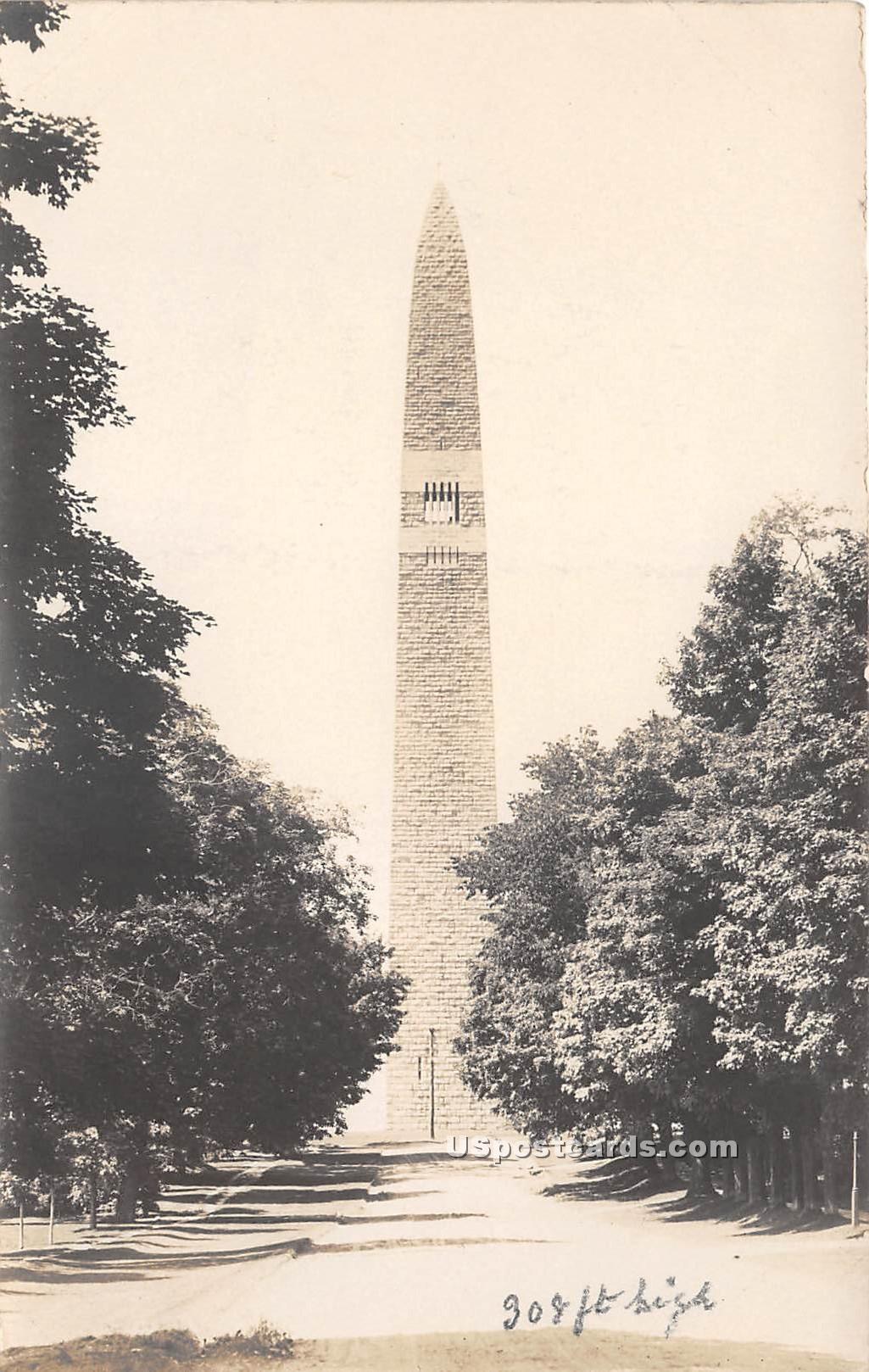 Highest Battle Monument in the World - Bennington, Vermont VT Postcard