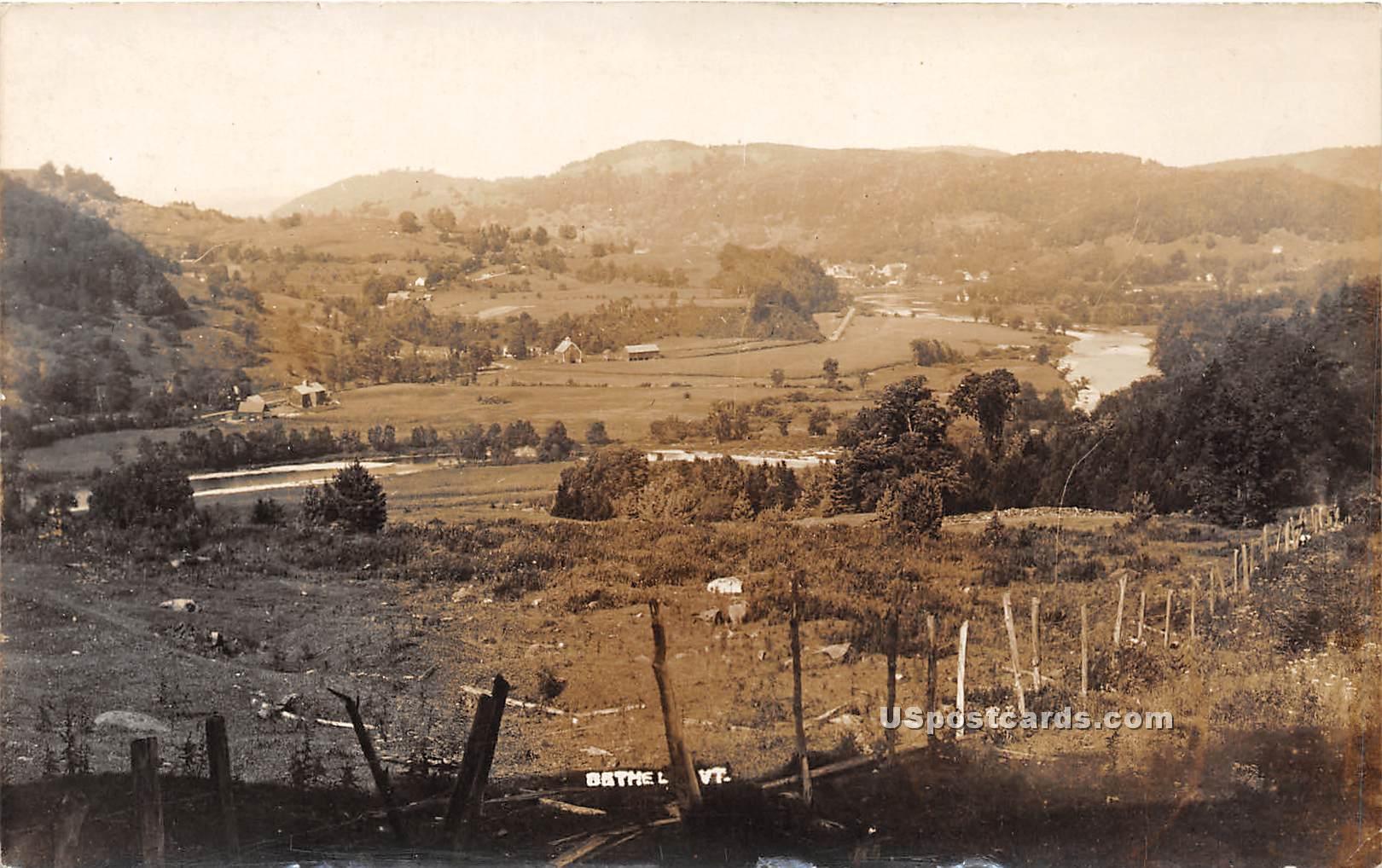 Birdseye View - Bethel, Vermont VT Postcard