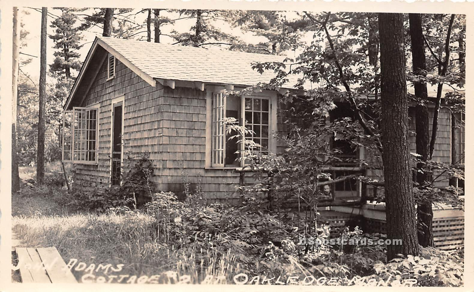 John Adams Cottage - Burlington, Vermont VT Postcard