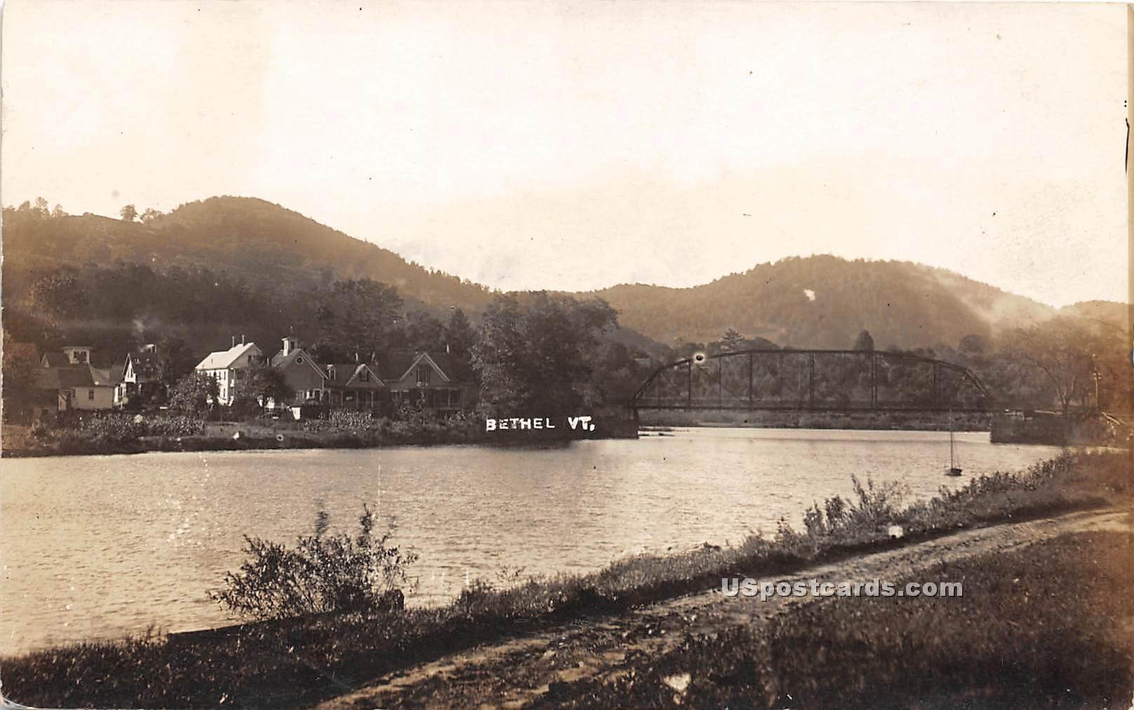Water Scene - Bethel, Vermont VT Postcard