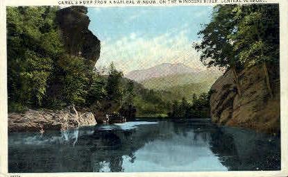 Camel's Hump - Winooski River, Vermont VT Postcard