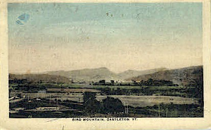 Bird Mountain - Castleton, Vermont VT Postcard