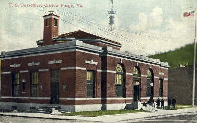 Post Office - Clifton Forge, Vermont VT Postcard