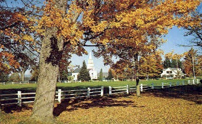 Village - Craftsbury Common, Vermont VT Postcard