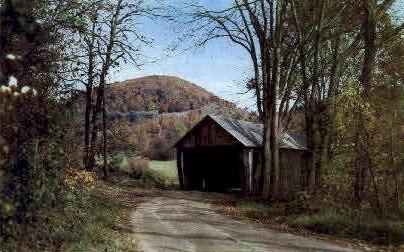 Vermont Covered Bridge - Chelsea Postcard