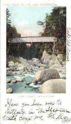 Clarendon Gorge - Green Mountains, Vermont VT Postcard