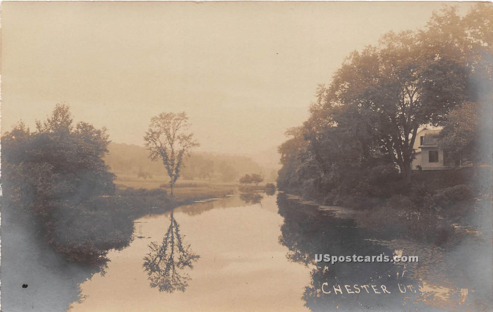 Lake View - Chester, Vermont VT Postcard