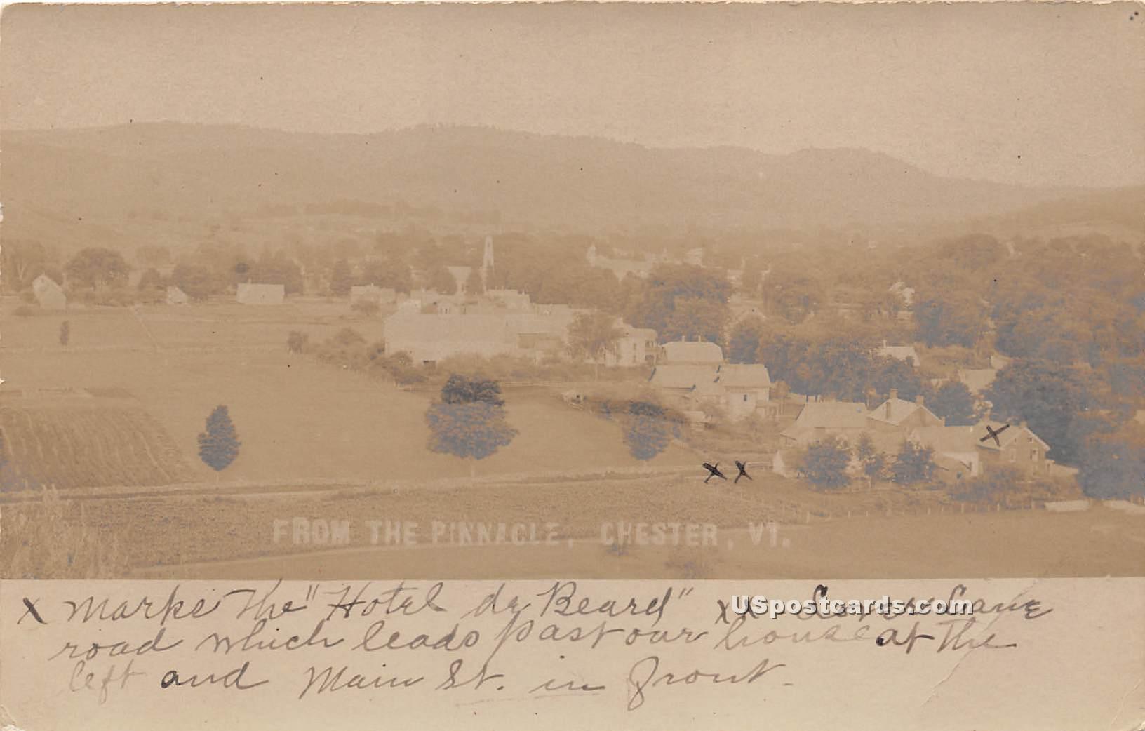 Pinnacle - Chester, Vermont VT Postcard