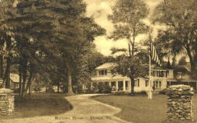 Barrows House - Dorset, Vermont VT Postcard