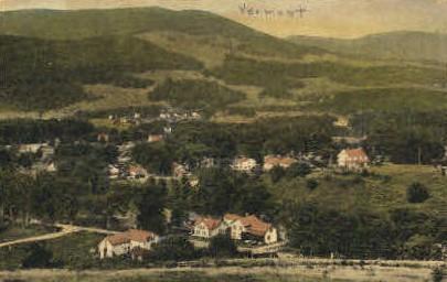 Dorset - Vermont VT Postcard