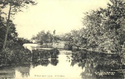Prentiss Pond - Dorset, Vermont VT Postcard
