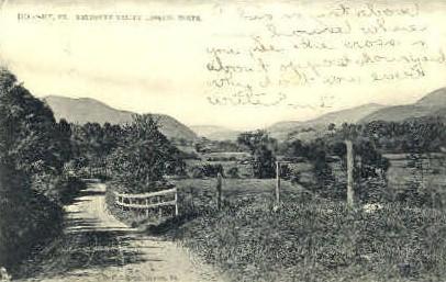 Mettowee Valley - Dorset, Vermont VT Postcard