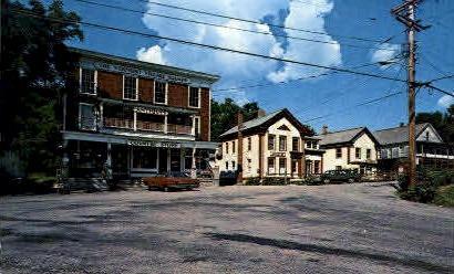 Vermont Village Square - Danby Postcard
